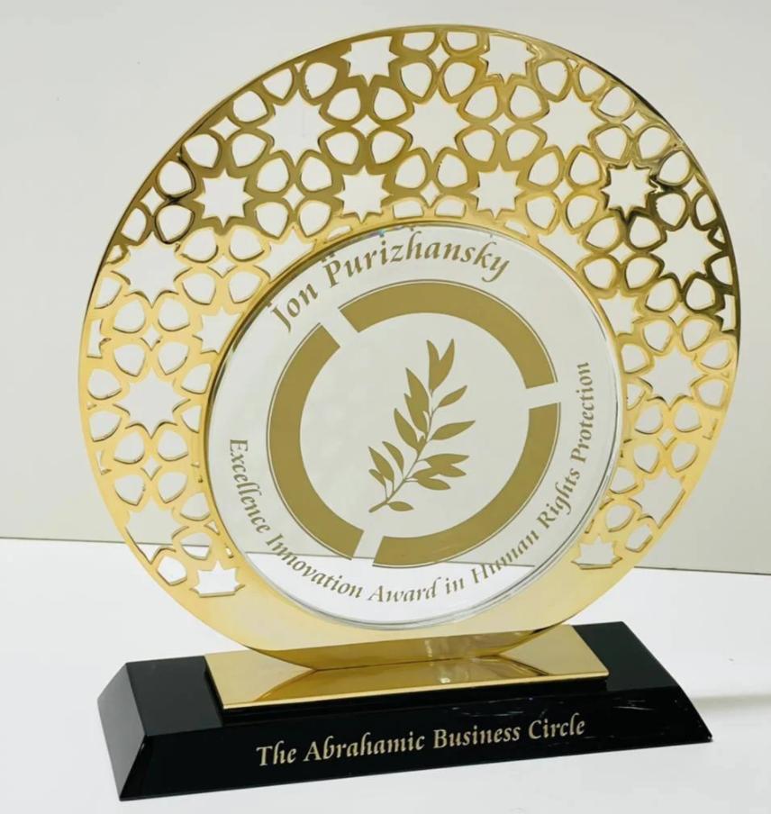 Joblio CEO Recognized for Outstanding Humanitarian Accomplishments